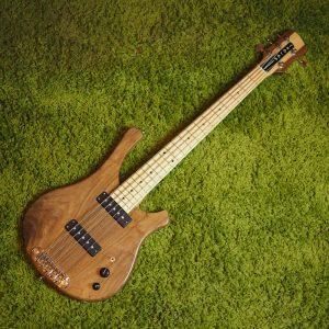 Serek 5-String Sacramento Bass - Serek Singles - Solid Walnut