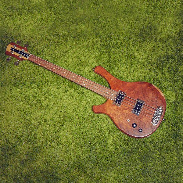 Serek Lefty Sacramento Bass - Serek Singles - Bubinga Top
