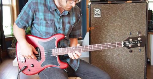 Serek Basses B90 Bass Pickup Demo – P90 for Bass Guitar