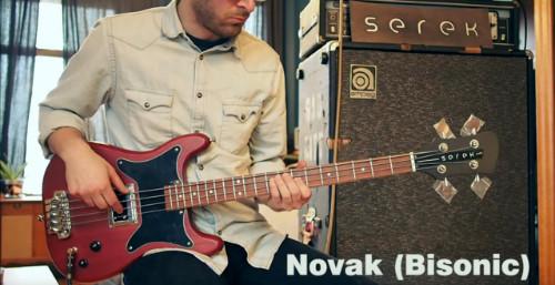 Serek Basses - BiSonic Bass Pickup Comparison: Guild BS-1 vs Curtis Novak BS-DS (w/ Coil Tap)