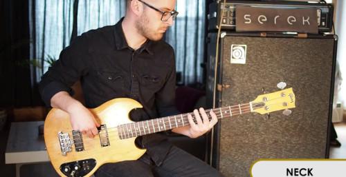 Different Basses: Gibson SB 350 – Serek Basses