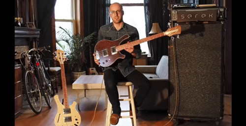 Serek Basses - Sacramento Bass Demo (Short Scale Edition)