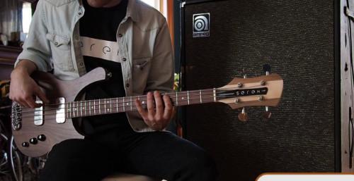 Thunderbucker Ranch Bass Pickup Demo: The 66 Series – Serek Basses